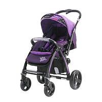 Коляска прогулочная quatro rally фиолетовый