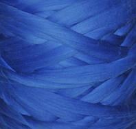 100% шерсть мериноса Синий 24-25 мкрн
