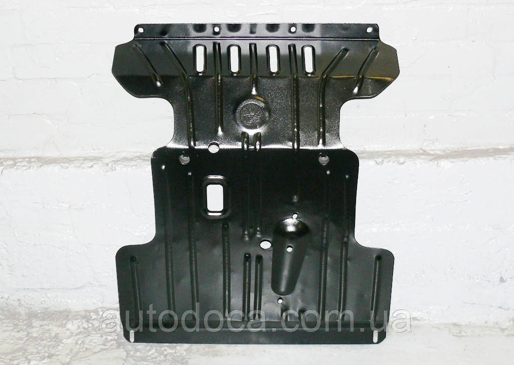 Защита картера двигателя и кпп, ркпп Chevrolet Niva 2002-