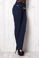 Стильные укороченные зауженные брюки с манжетом, р.42,44,46,48,50 код 1992М