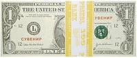 Сувенирные деньги 1 доллар .Пачка 80 шт.