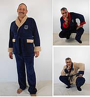 Мужской махровый домашний костюм