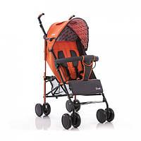 Коляска трость everflo sk-165 (новая модель - закрытые колеса) Orange