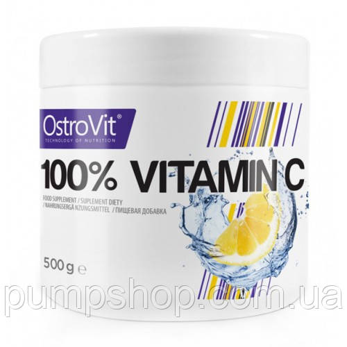 Витамины Ostrovit Vitamin C 500 грамм