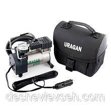 Компрессор URAGAN 7 Атм, 35 л/мин., шланг 1м (2 года гарантии) (90110), (URAGAN)