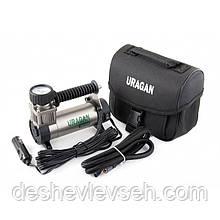 Компрессор URAGAN 7 Атм, 35 л/мин., шланг 1м (2 года гарантии) (90180), (URAGAN)