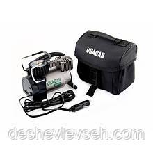 Компрессор URAGAN 7 Атм, 35 л/мин., шланг 1м с автостопом (2 года гарантии) (90135), (URAGAN)