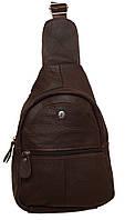 Стильный рюкзак кожаный 219 brown