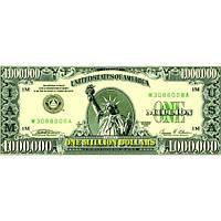 Сувенирные деньги миллион долларов .Пачка 80 шт