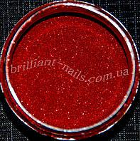 Зеркальная пыль красная (втирка), 0.1мм - 1/256