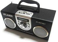 Акустическая колонка  Atlanfa AT-8979BT с Bluetooth  MP3/SD/USB/FM/, black, фото 1