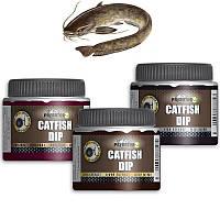 Сомовый дип Predator-Z Catfish Dip, 130ml, Fish essence (рыбный концентрат)