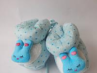 Пинетки для малышей J-4-голубой