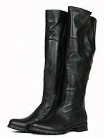 Женские сапоги ботфорты зима