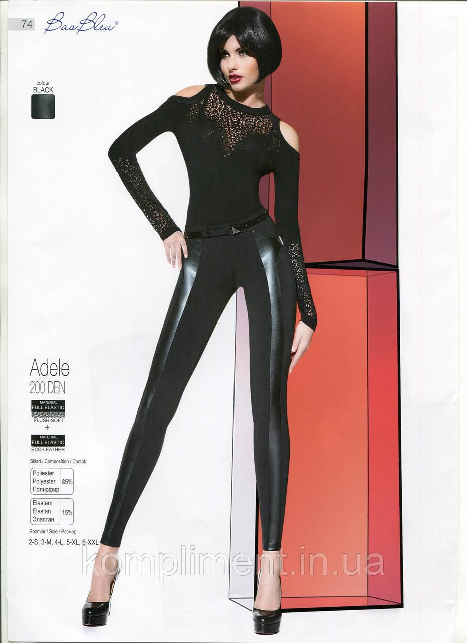 Леггинсы женские модельные комбинированные Bas Bleu ADELE  200 DEN