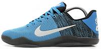 Баскетбольные кроссовки Nike Kobe 11 (Найк) голубые