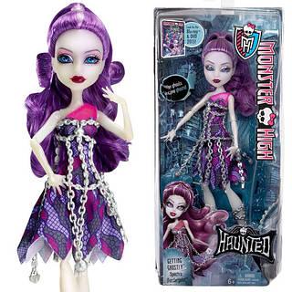Кукла Монстер Хай Спектра Вондергейст Призрачная Monster High Getting Ghostly Spectra Vondergeist