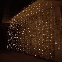 ШТОРА на прозрачном проводе 3х2м 750 LED