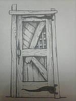 Деревянная дверь межкомнатная