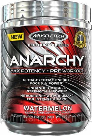Предтренировочний комплекс MuscleTech Anarchy 60 порц.