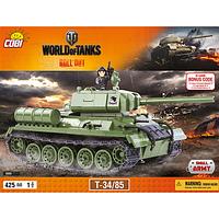 Конструктор COBI Word Of Tanks Т-34/85