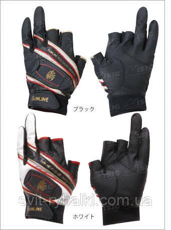 Перчатки Sunline STATUS MAG STG-512 белые, L