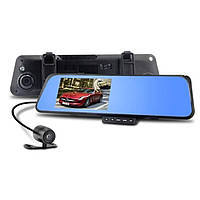 Автомобильный видеорегистратор-зеркало с двумя камерами DVR-170