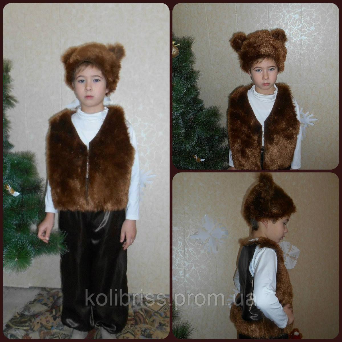 Карнавальный костюм мишки, медведя прокат