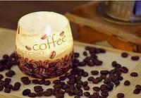 Свеча в стакане ароматизированная  Кофе1