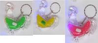 """Брелок Петух светящийся 815  """"Петух разноцветный"""" для ключей пластик уп48"""