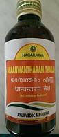 Дханвантарам Таилам массажное масло, Dhanvantharam Thailam, Nagarjuna, 200 мл