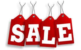 Sale минус 70%, 50%, 30%...