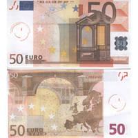 Сувенирные деньги 50 евро . Подарочная пачка 80 штук