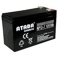 Аккумулятор мультигелевый TECHNOLOGY NP12-7.2Ah 12V 7.2AH