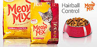 Meow Mix Hairball Control 175 гр - Корм для выведения комков шерсти у кошек