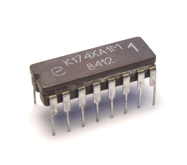 К174ХА1М (TBA920) мікросхема - синхронний демодулятор колірної піднесучої