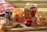 Свеча в стакане ароматизированная Ароматная кухня