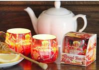 Свеча в стакане ароматизированная Фруктовый чай