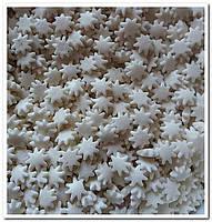 Снежинки белые посыпка сахарная декоративная 100 гр
