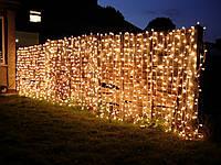 Уличная штора гирлянда 3х0,8м 180 LED