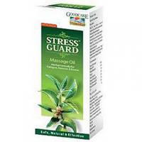 Стресс Гуард массажное масло, Goodcare Stress Guard Massage Oil, 100 мл.