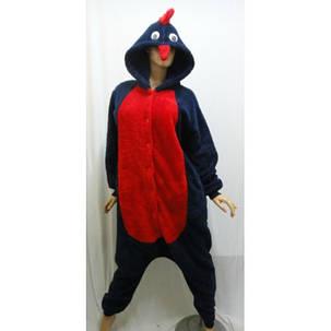 "Пижама кенгуруми, домашний махровый костюм ""Петух"", Украина, фото 2"