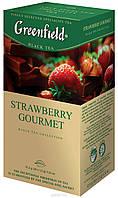 Чай черный Greenfield Strawberry Gourmet 25 пакетов