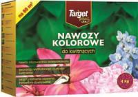 Удобрение гранулированное для цветущих растений Target plus 4кг
