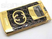 Gucci GG-6 flip телефон. 2 СИМ*6800mAh