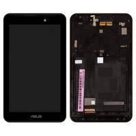 Модуль (дисплей с сенсором и рамкой) Asus FonePad 7 FE170C