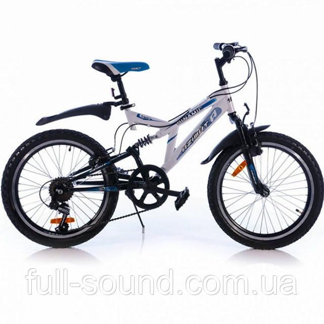 Горный велосипед Azimut Dinamic 20' white-blue - Full Sound в Одессе