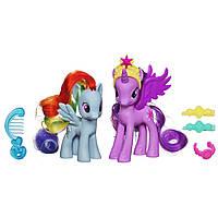 Принцесса Искорка и Радуга - Princess Twilight Sparkle and Rainbow Dash, Hasbro
