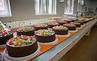 Кондитерский цех торты