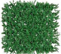 Декоративное зеленое покрытие «Туя», 50х50 см